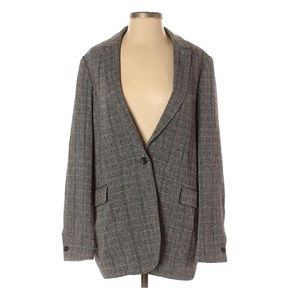Scotch & Soda Oversized Wool Blazer